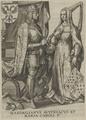Bildnis von Maria, Kaiserin des R�misch-Deutschen Reiches und Maximilianvs, Kaiser des R�misch-Deutschen Reiches, 1601/1750 (Quelle: Digitaler Portraitindex)