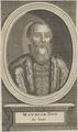 Bildnis von Maurice, Kurfürst von Sachsen, 1601/1750 (Quelle: Digitaler Portraitindex)