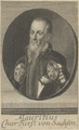 Bildnis von Mauritius, Kurfürst von Sachsen, 1701/1733 (Quelle: Digitaler Portraitindex)