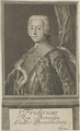 Bildnis des Fridricus II., Sysang, Johann Christoph - 1745/1757 (Quelle: Digitaler Portraitindex)