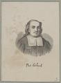 Bildnis des Paul Gerhard, 1801/1850 (Quelle: Digitaler Portraitindex)