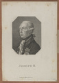 Bildnis des Joseph II., Kaiser des Römisch-Deutschen Reiches, Friedrich Rossmäßler-1821 (Quelle: Digitaler Portraitindex)
