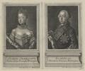 Bildnisse des Georg III., König von Großbritannien und der Sophie Charlotte, Königin von Großbritannien, Johann Ernst Gericke-1762 (Quelle: Digitaler Portraitindex)