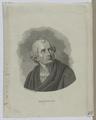 Bildnis des Friedrich Gottlieb Klopstock, Adolph Sch tzig - um 1828 (Quelle: Digitaler Portraitindex)