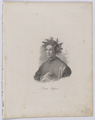 Bildnis des Dante Alighieri, Friedrich Weber (zugeschrieben) - 1856 (Quelle: Digitaler Portraitindex)