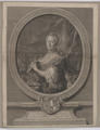 Bildnis der Maria Antoinette, Princesse Royale de Pologne, Giuseppe Canale - 1764 (Quelle: Digitaler Portraitindex)