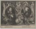 Doppelbildnis des Pet. Pavl. Rvbens und des Antonivs van Dyck, Pontius, Paulus - 1622/1657 (Quelle: Digitaler Portraitindex)