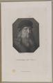 Bildnis des Leonard de Vinci, Johann Christian Benjamin Gottschick - 1818/1832 (Quelle: Digitaler Portraitindex)