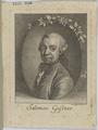 Bildnis des Salomon Gessner, Johann Rudolf Schellenberg-1770 (Quelle: Digitaler Portraitindex)