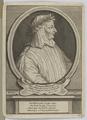 Bildnis des Fran�ois Petrarque, Etienne Desrochers - 1683/1741 (Quelle: Digitaler Portraitindex)