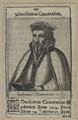 Bildnis des Ioachimus Camerarius, 1593 (Quelle: Digitaler Portraitindex)