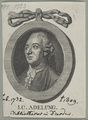 Bildnis des I. C. Adelung, 1765/1810 (Quelle: Digitaler Portraitindex)