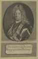 Bildnis des Christianus Ludovicus, 1701/1733 (Quelle: Digitaler Portraitindex)