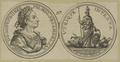 Bildnis des Augustus II., K�nig von Polen, Monogrammist C. W. - 1701/1750 (Quelle: Digitaler Portraitindex)
