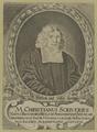 Bildnis des Christianus Scriverius, 1667/1725 (Quelle: Digitaler Portraitindex)