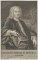 Bildnis des Barthold Heinrich Brockes, Gustav Andreas Wolfgang-1743 (Quelle: Digitaler Portraitindex)