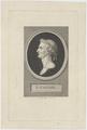Bildnis des J. Caesar, Augustin de Saint-Aubin - 1756/1807 (Quelle: Digitaler Portraitindex)