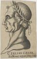 Bildnis des C. Iulius Caesar, unbekannter K nstler - 1701/1800 (Quelle: Digitaler Portraitindex)