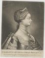 Bildnis der Charlotte, Queen of Great Britain, James Watson-1765/1780 (Quelle: Digitaler Portraitindex)
