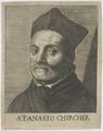 Bildnis des Atanasio Chircher, unbekannter K nstler - nach 1640 (Quelle: Digitaler Portraitindex)
