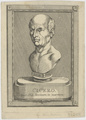 Bildnis des Cicero, unbekannter K nstler - 1650/1700 (Quelle: Digitaler Portraitindex)