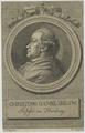 Bildnis des Christoph Daniel Ebeling, Christoph Heinrich Kniep-vor 1786 (Quelle: Digitaler Portraitindex)