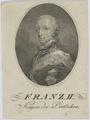 Bildnis des Franz II., Pichler - 1792/1844 (Quelle: Digitaler Portraitindex)