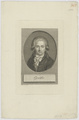 Bildnis des Goethe, Christian Friedr. Traugott Uhlemann - 1792 (Quelle: Digitaler Portraitindex)