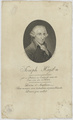 Bildnis des Joseph Haydn, Alexandre Chaponnier - 1803 (Quelle: Digitaler Portraitindex)
