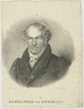 Bildnis des Alexander von Humboldt, R. Weber - 1826/1850 (Quelle: Digitaler Portraitindex)