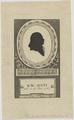 Bildnis des K. W. Justi, unbekannter K nstler - um 1800 (Quelle: Digitaler Portraitindex)