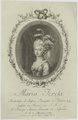 Bildnis der Maria Teresa, Arciduchessa d'Austria, Principessa di Toscana, Carlo Lasinio - 1787/1800 (Quelle: Digitaler Portraitindex)