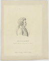 Bildnis des Mozart, Julius Cäsar Thaeter-1821/1850 (Quelle: Digitaler Portraitindex)