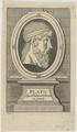 Bildnis des Plato, Johann Christian Püschel-1711/1770 (Quelle: Digitaler Portraitindex)
