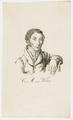 Bildnis des C. M. von Weber, nach 1821 (Quelle: Digitaler Portraitindex)