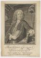 Bildnis des Mavritivs Georgivs Weidmannvs, Bernigeroth, Johann Martin - 1744 (Quelle: Digitaler Portraitindex)