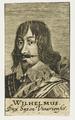 Bildnis des Wilhelmus Dux Saxon. Vinariensis, 1650/1750 (Quelle: Digitaler Portraitindex)
