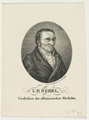 Bildnis des I. P. Hebel, Wellauer, Caspar - 1813/1853 (Quelle: Digitaler Portraitindex)