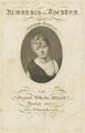 Bildnis der Friederike Bethmann, Johann Friedrich Bolt - 1806 (Quelle: Digitaler Portraitindex)
