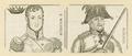 Doppelbildnis F. Wilhelm und Bl�cher, 1801/1850 (Quelle: Digitaler Portraitindex)