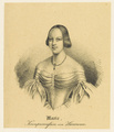 Bildnis der Marie Kronprinzessin von Hannover, 1843/1851 (Quelle: Digitaler Portraitindex)