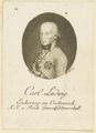 Bildnis des Carl Ludwig Erzherzog zu Oesterreich, Johann Georg Balzer - 1792/1799 (Quelle: Digitaler Portraitindex)