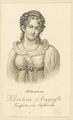 Bildnis der Karoline Auguste Kaiserin von Oestereich, Portman, Ludwig Gottlieb-nach 1816 (Quelle: Digitaler Portraitindex)