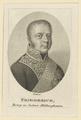 Bildnis des Friederich, Herzog zu Sachsen-Hildburghausen, Johann Friedrich Bolt - 1800/1836 (Quelle: Digitaler Portraitindex)