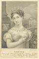 Bildnis der Louise, Regierende Herzogin zu Sachsen-Koburg-Saalfeld, David Weiss - 1817/1846 (Quelle: Digitaler Portraitindex)