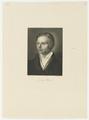 Bildnis des Ludwig Uhland, Eduard Mandel-1825/1882 (Quelle: Digitaler Portraitindex)