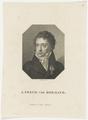 Bildnis des J. Freyh. von Hormayr, Ludwig Buchhorn - 1818/1832 (Quelle: Digitaler Portraitindex)