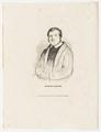 Bildnis des Justinus Kerner, Deis, Carl August-1825/1884 (Quelle: Digitaler Portraitindex)