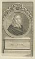 Bildnis des Milton, Johann Georg Sturm - 1757/1793 (Quelle: Digitaler Portraitindex)
