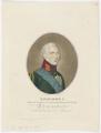 Bildnis Alexander I., Selbstbeherscher aller Reussen, Friedrich Wilhelm Nettling - 1803 (Quelle: Digitaler Portraitindex)